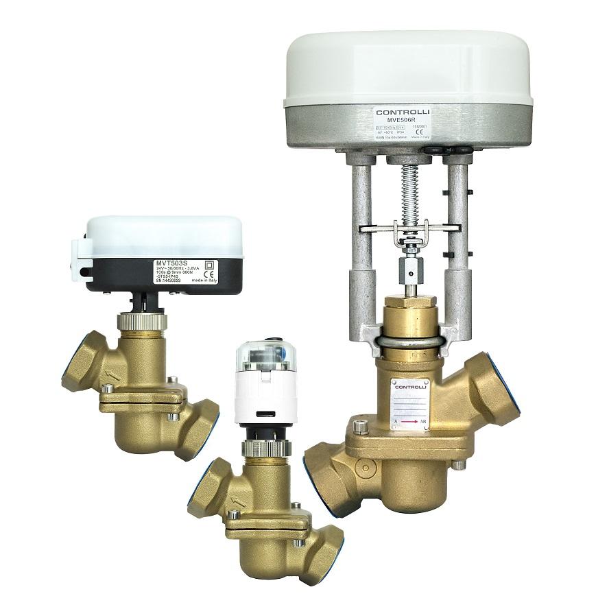 Controlli valves and actuators - ktcnederland